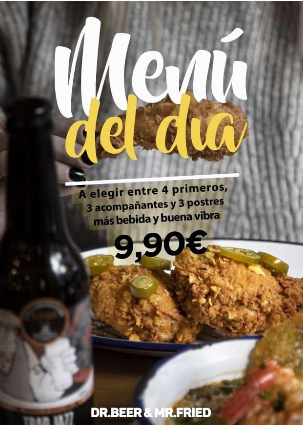 Menú del Día Barcelona
