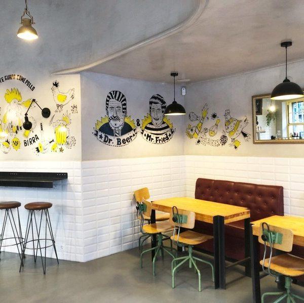 Interior restaurante cajún